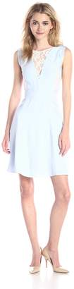 French Connection UK Women's Collection Fresh Water Dress Lace Detail