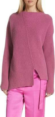 Robert Rodriguez Asymmetrical Wool & Cashmere Sweater