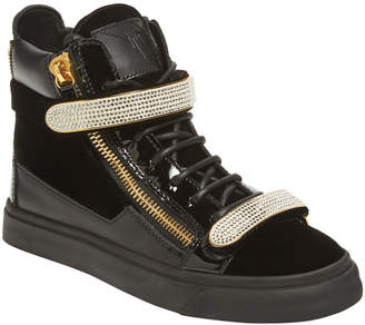 Giuseppe Zanotti Leather High-Top Sneaker