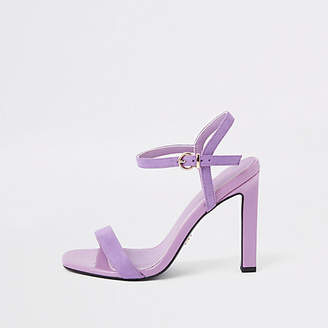 River Island Purple barely there sandals