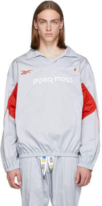 Pyer Moss Reebok by Grey Vector Pullover Jacket