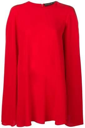 Etro short cape dress
