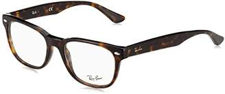 Ray-Ban Men's 59 Optical Frames, Negro