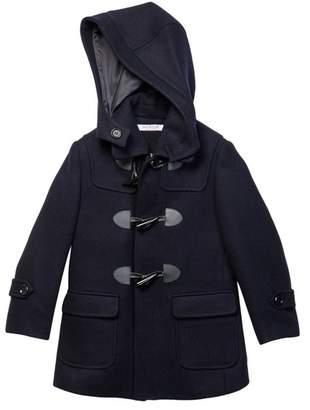 Isaac Mizrahi Wool Blend Toggle Hooded Coat (Toddler, Little Boys, & Big Boys)
