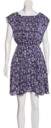 Alice + Olivia Printed A-Line Dress