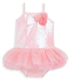 Kate Mack Little Girl's Tutu One-Piece Swimsuit