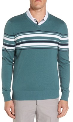Men's Ag Ridgewood V-Neck Sweater $178 thestylecure.com