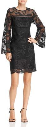 Nanette Lepore nanette Bell Sleeve Lace Dress