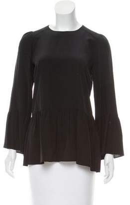Hoss Intropia Silk Long Sleeve Top