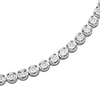 Sterling Silver 1/2-ct. T.W. Diamond Tennis Bracelet