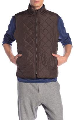 Hawke & Co Diamond Quilted Vest