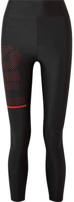 P.E Nation The Countdown Printed Stretch Leggings - Black