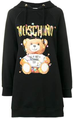 Moschino Teddy Holiday hoodie dress