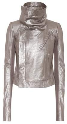 Rick Owens Classic Biker leather jacket