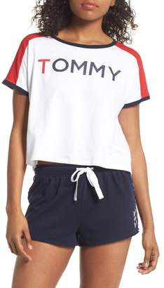 Tommy Hilfiger Cropped Lounge Tee