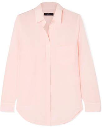 J.Crew Robin Silk Crepe De Chine Shirt - Pink