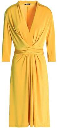 Raoul Draped Stretch-Jersey Dress