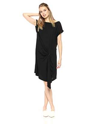 Kenneth Cole Women's Gathered Front Detail Dress
