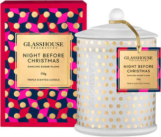Peter Alexander Glasshouse Fragrances Limited Edition Night Before Xmas Candle 350G