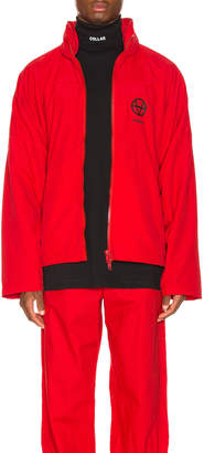 Vetements Anarchy Tracksuit Jacket in Red | FWRD