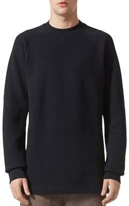 adidas Wings and Horns Double Waffle Knit Crewneck Long Sleeve Shirt