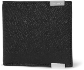 Balenciaga Phileas Grained-Leather Billfold Wallet $305 thestylecure.com