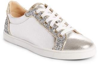 Christian Louboutin Seava Embellished Lizardskin Embossed Sneaker