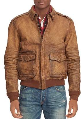 Polo Ralph Lauren A-2 Leather Bomber Jacket