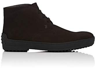 Tod's MEN'S SUEDE CHUKKA BOOTS - BROWN SIZE 8 M