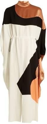 Roksanda Enga drawstring-waist silk midi dress