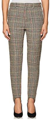 Y/Project Women's Plaid Wool Skinny Trousers