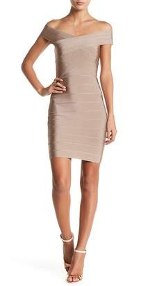 Wow Couture Crisscross Bodycon Dress