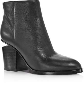 Alexander Wang Women's Gabi Round Toe Booties
