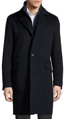 Loro Piana Martingala Two-Layer Cashmere Rain System® Coat $8,395 thestylecure.com