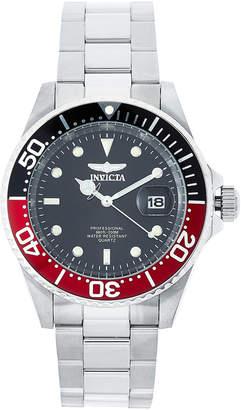 Invicta 24945 Silver-Tone & Black Watch