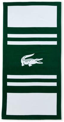 Lacoste Green Pop Beach Towel
