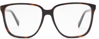 Celine Square Tortoiseshell Acetate Sunglasses - Womens - Tortoiseshell