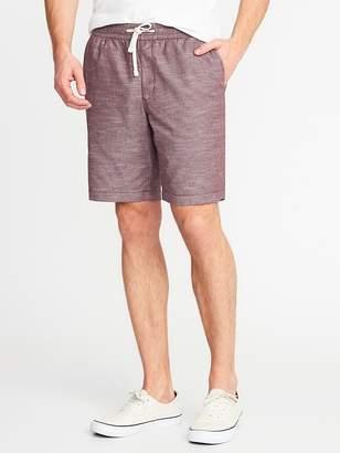 f4b031a1ef Clothing Built-In Flex Twill Jogger Shorts for Men 9-inch inseam--DARK