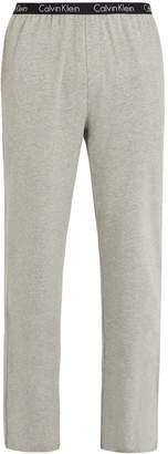 Calvin Klein Underwear Logo-print stretch-cotton pyjama trousers