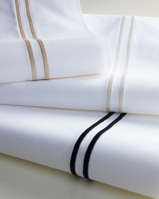 Sferra King 200 Thread-Count Solid White Resort Fitted Sheet
