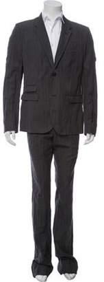 Neil Barrett Wool Two-Piece Suit w/ Tags grey Wool Two-Piece Suit w/ Tags