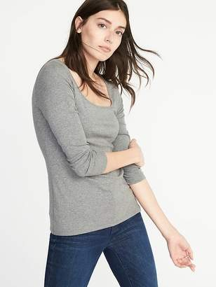 Old Navy Slim-Fit Square-Neck Tee for Women