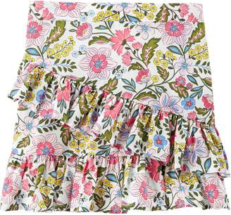 Carter's Girls 4-12 Floral Tiered Ruffle Skirt