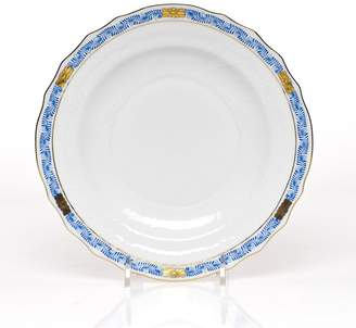 Herend Chinese Bouquet Salad Plate, Garland Blue