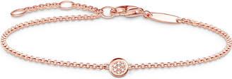Thomas Sabo Glam and Soul rose gold diamond bracelet