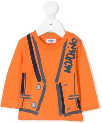 Moschino Kids waistcoat design top
