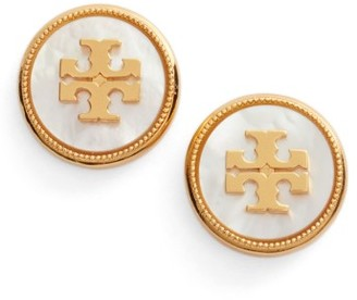 Women's Tory Burch Semiprecious Stone Stud Earrings $98 thestylecure.com