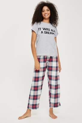 Topshop 'It Was All A Dream' Pyjama Set