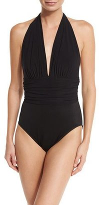 Magicsuit Yves Halter One-Piece Swimsuit, Available in DD Cup $158 thestylecure.com