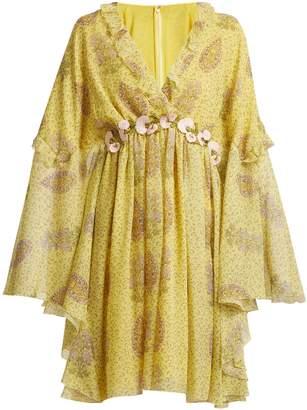 Giambattista Valli Floral-print silk-georgette dress